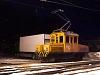 The Rhätische Bahn Ge 2/2 161 seen at Poschiavo