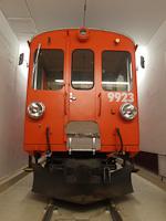 Az Xe 4/4 9923-as szolgálati jármű (ex ABe 4/4 I  37, egy ABe 4/4 12) Poschiavóban