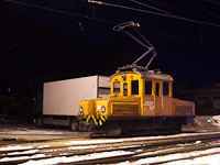 A Rhätische Bahn Ge 2/2 161 Poschiavo állomáson