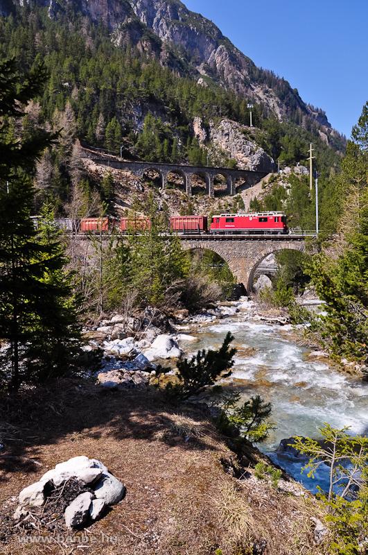 A Ge 4/4 II  631 az Albula-I viadukton fotó