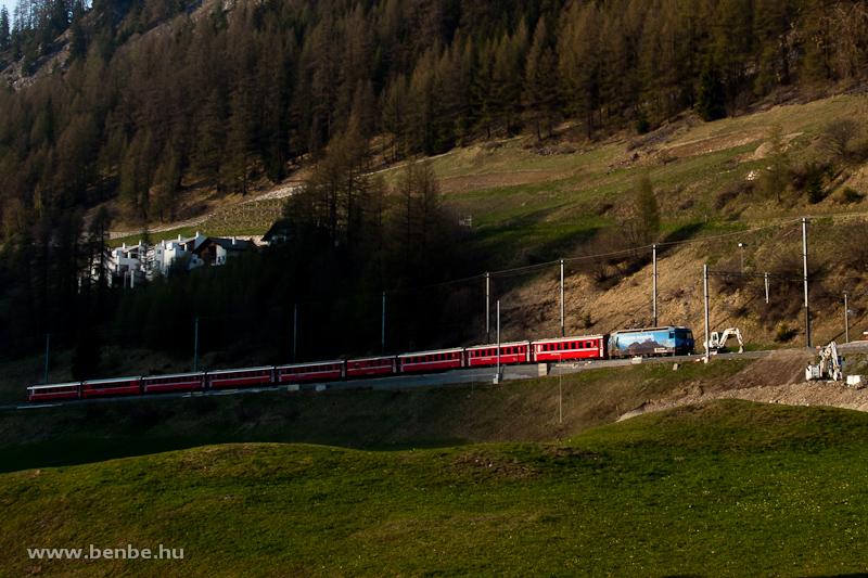 A Ge 4/4 III  647 Bergün/Br fotó