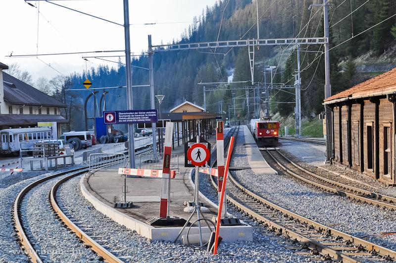 A Ge 6/6 II  706 Bergün/Bra fotó