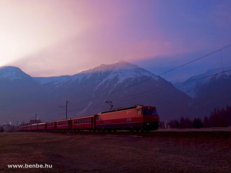 A Ge 4/4 III  644 egy hóvir fotó