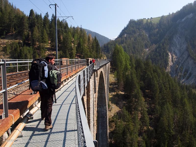 A Wiesen Viadukt fotó