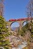 A Ge 4/4<sup>III</sup> 644 az Albula-II viadukton