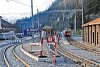 A Ge 6/6 II  706 Bergün/Bravuogn állomáson