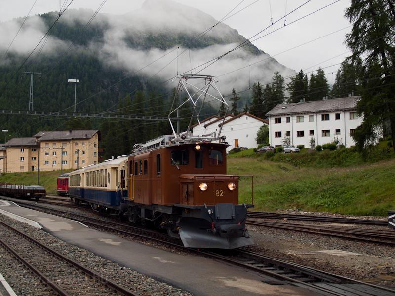 Az RhB Ge 4/4 182 (Berninab fotó