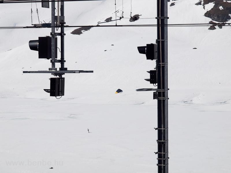 Szélsíző Ospizio Berninánál fotó