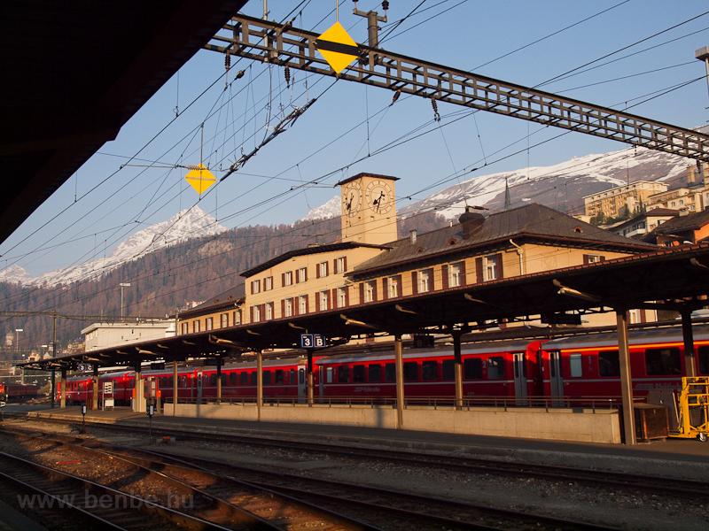 Sankt Moritz állomás fotó