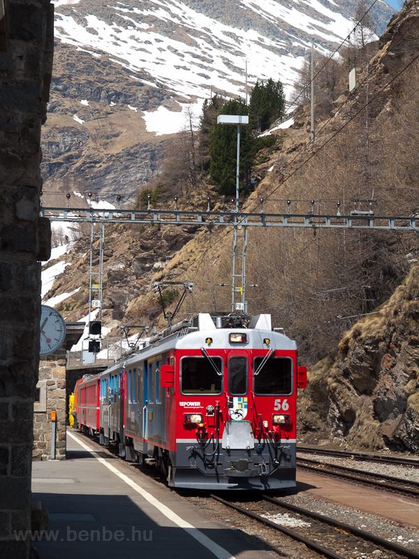 Az ABe 4/4 III  56 Alp Grüm fotó