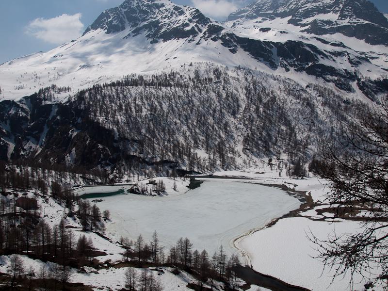 A Palü-gleccsertó fotó