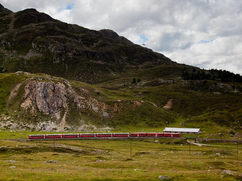 Allegrás Bernina Express Os fotó
