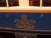 A címer egy Alpine Classic Pullman Express kocsin