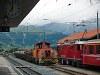 A Tmf 2/2 88 és a Ge 4/4 II  620 Pontresinában
