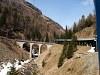 Az Aqua da Pila Viadukt a Berninabahnon Stablini és Cavaglia között