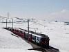 Az RhB ABe 4/4<sup>III</sup> 53 és 56 a Bernina-Express panorámavonattal Alp Grüm és Ospizio Bernina között
