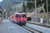 A Ge 4/4<sup>II</sup> 633 a szokásos reggeli GmP-vel jár be Bergün/Bravuogn állomásra