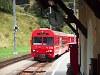 Az RhB BDt 1753-as vezérlőkocsi Susch állomáson