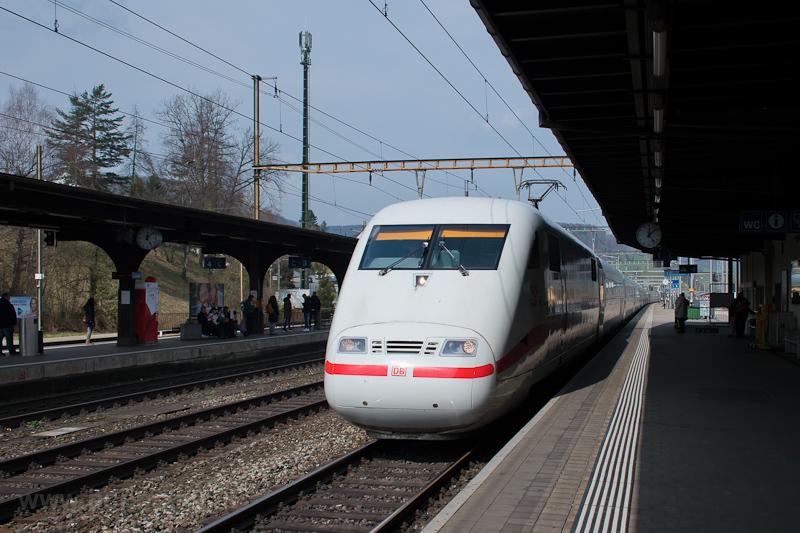 A DB 401 574-9  Zürich  nev fotó