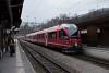 The Rhätische Bahn ABe 8/12 3514 seen at Filisur