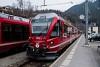 The Rhätische Bahn ABe 8/12 3515 seen at Filisur