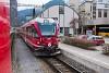 The Rhätische Bahn STZ ABe 4/16 3010 seen at Thusis