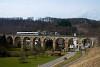 The THURBO RABe 526 735-6 seen between Buckten and Rümlingen on the Rümlinger-Viadukt