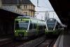 A BLS AG RABe525 010 és a TransN RABe 523 332 Neuchâtel állomáson