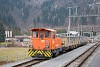 A Rhätische Bahn Tm 2/2 117 Thusis állomáson