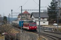 A CJ Be 4/4 616 Les Bois állomáson