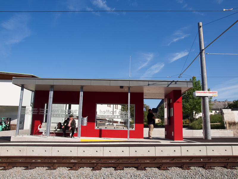 The new Gmunden Seebahnhof  photo