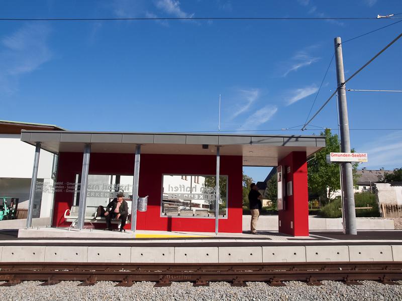 Az új Gmunden Seebahnhof me fotó
