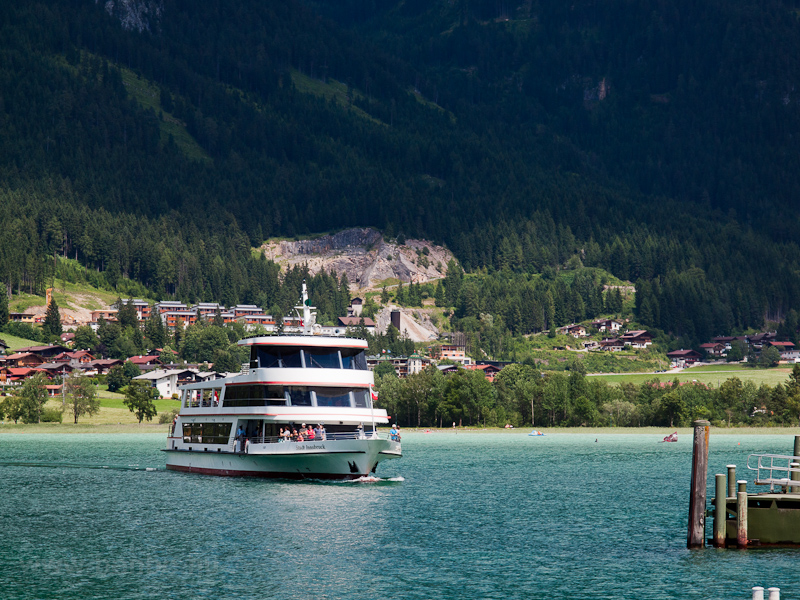 A boat on Achensee photo