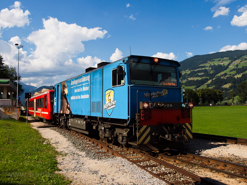 The Zillertalbahn D 16 seen photo