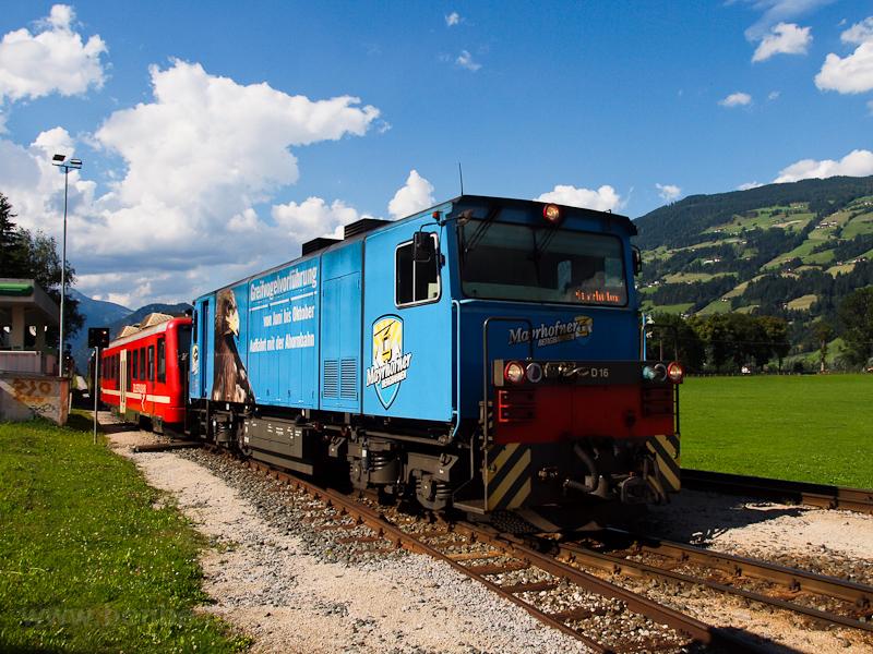 A Zillertalbahn D 16 Fügen- fotó