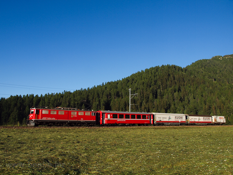 The Rhätische Bahn (RhB) Ge picture