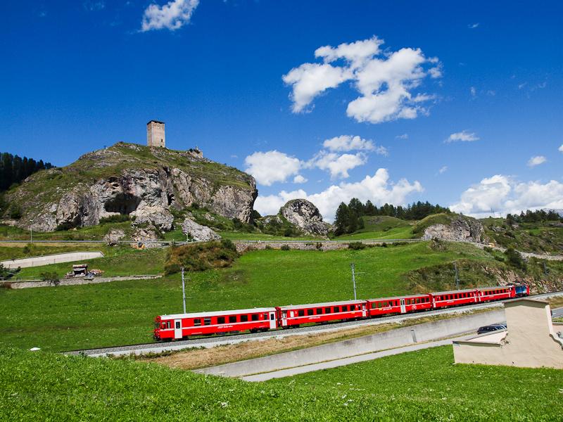 A Rhätische Bahn Bt 1721 Ft fotó