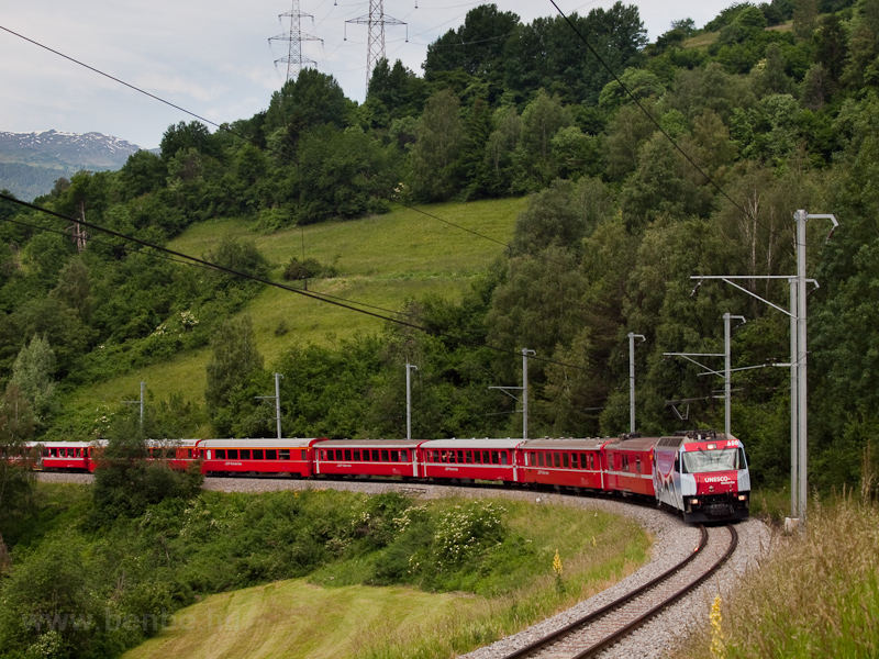 The Rhätische Bahn Ge 4/4 I photo