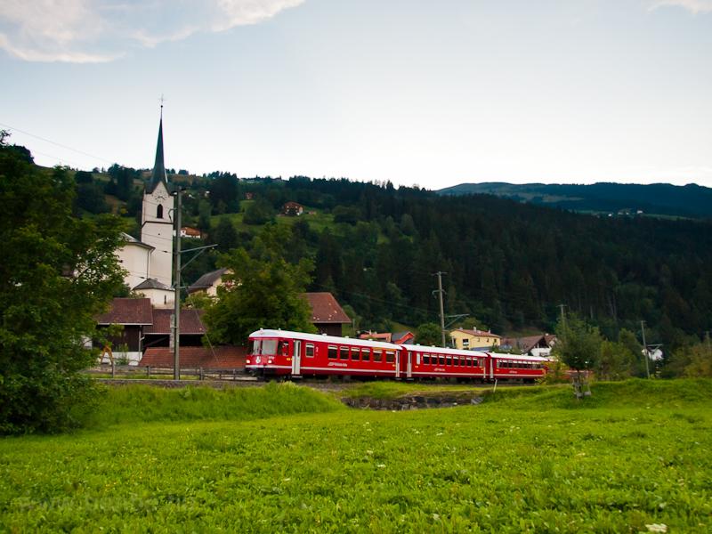 A Rhätische Bahn Be 4/4 171 fotó