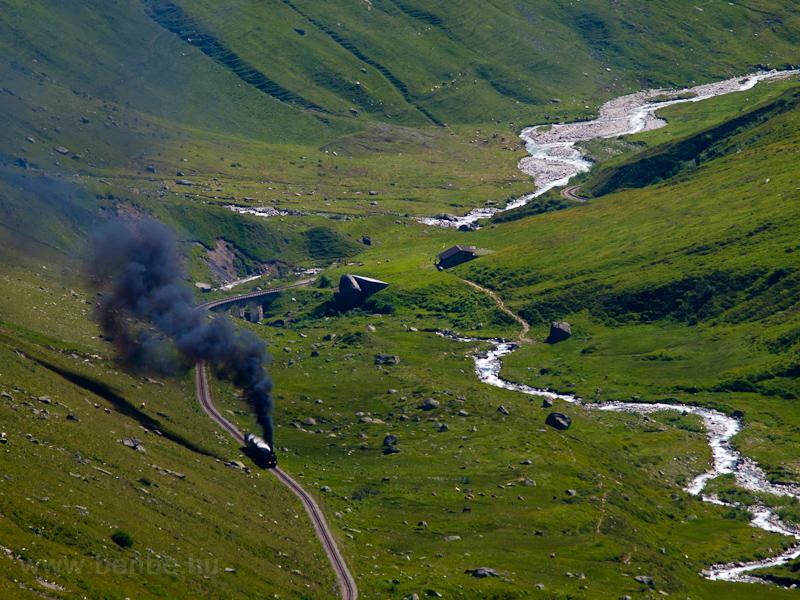A Dampfbahn Furka Bergstrec fotó