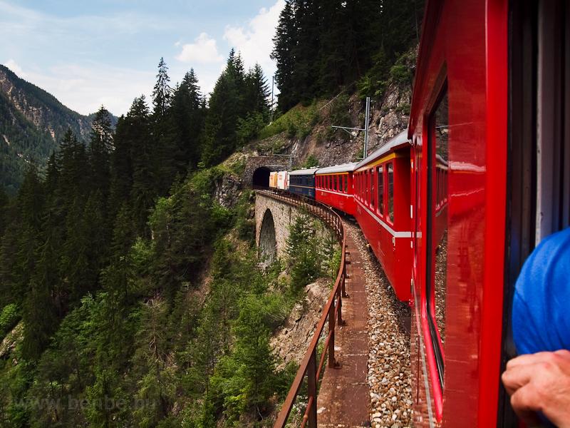 A Stulsertobel-Viadukt és a fotó