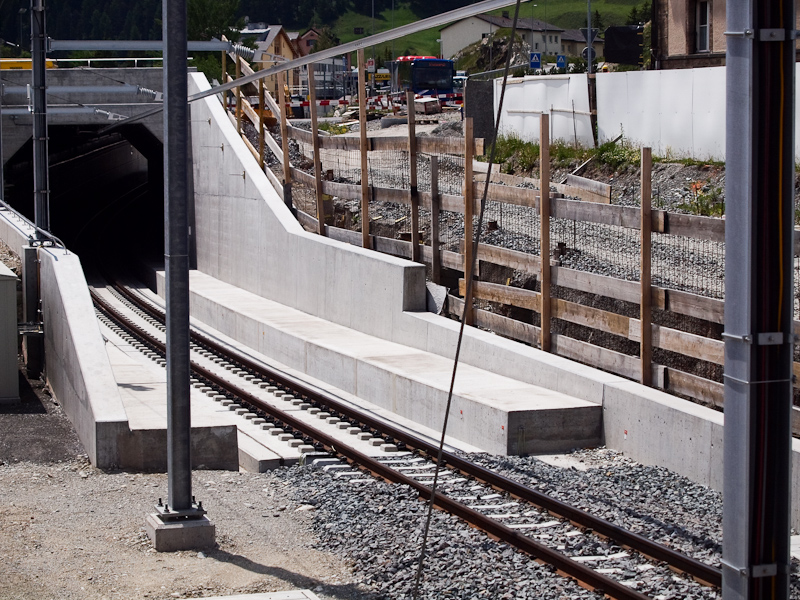 New underpass at Samedan photo