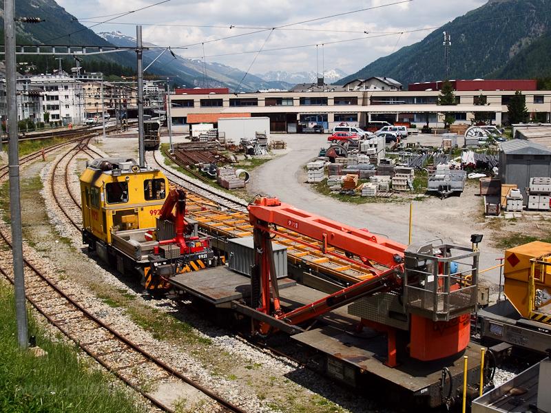 A Rhätische Bahn Xmf 2/2 99 fotó