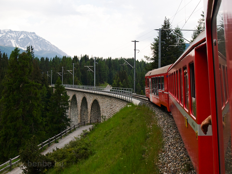 The Val Susauna-Viadukt is  photo