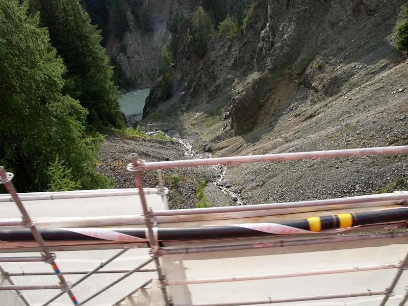 Kilátás a Val Verda-Viadukt fotó