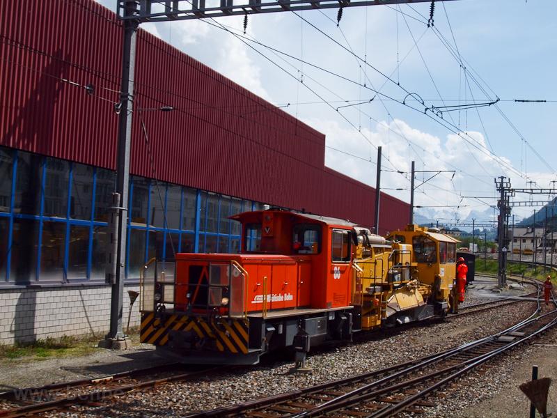 A Rhätische Bahn (RhB) Tmf  fotó