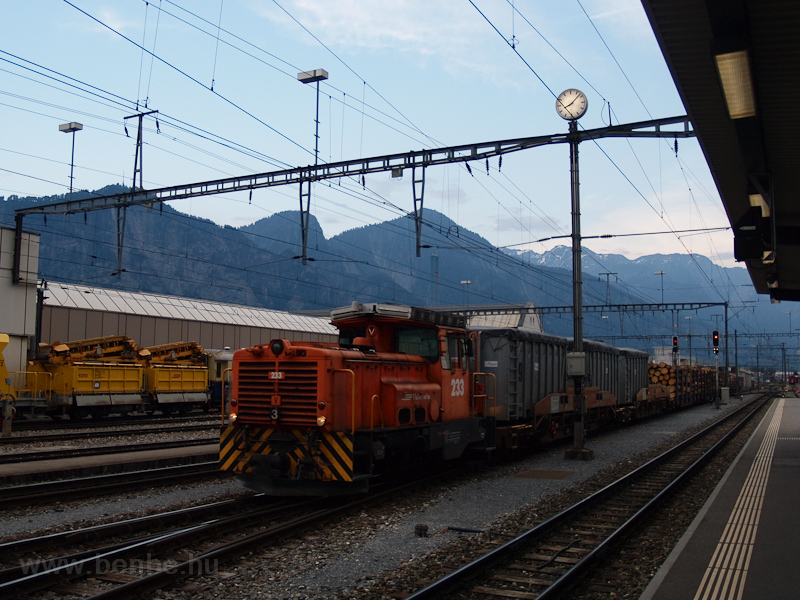 A Rhätische Bahn (RhB) Gm 3 fotó