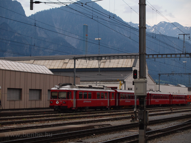 The Rhätische Bahn (RhB) Be photo