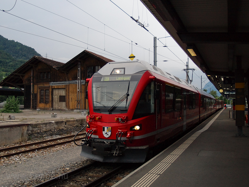The Rhätische Bahn (RhB) AB photo