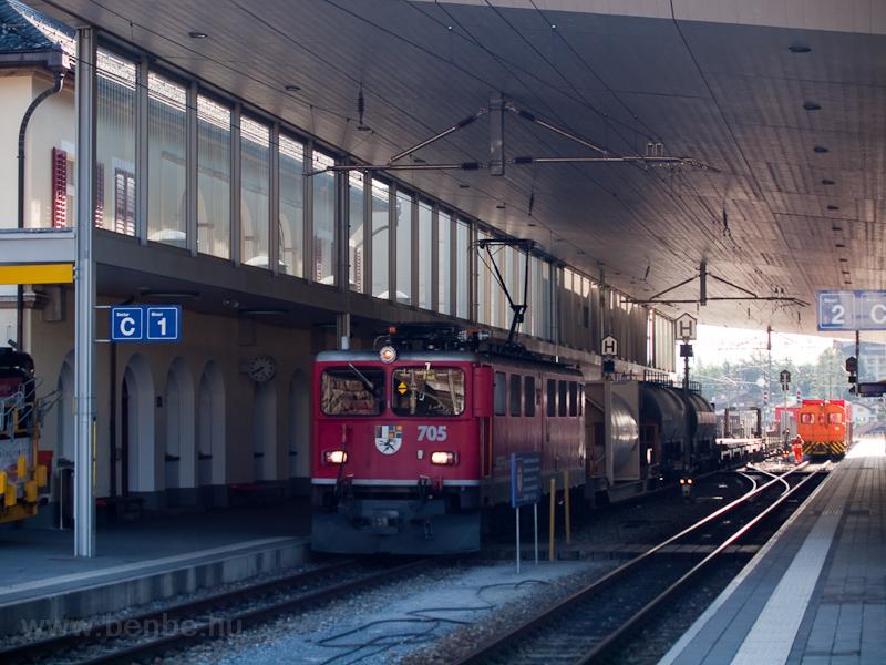 A Rhätische Bahn (RhB) Ge 6 fotó